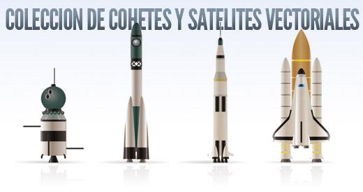 cohetes y satelites