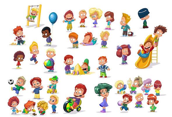 de caricaturas infantiles de excelente calidad y gran expresividad en ...