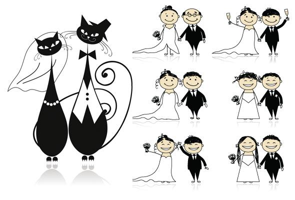 ilustraciones bodas