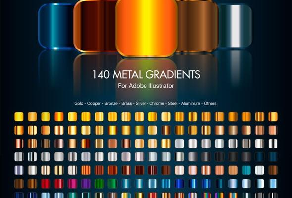 gradientes para Illustrator