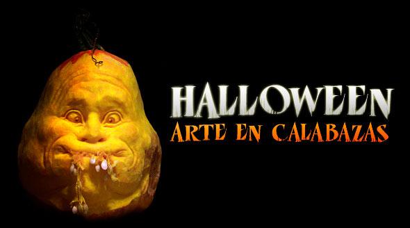 Halloween. Arte en calabazas