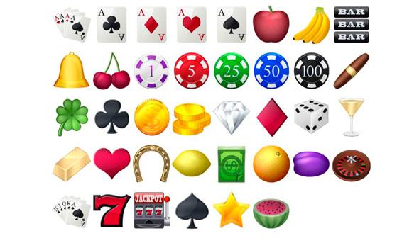 iconos de casino