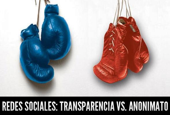 transparencia vs. anonimato