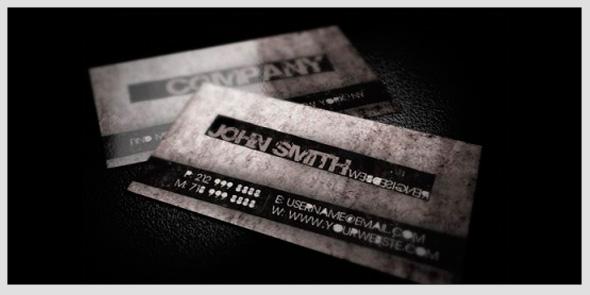 tarjeta de negocios