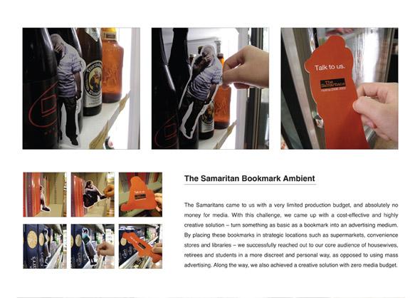 The samaritans: Marcador