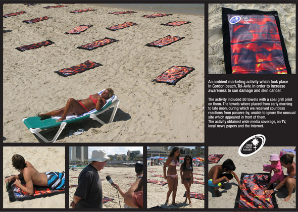 Israel Cancer Association: Grill towels