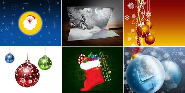 tutoriales navideños para Photoshop