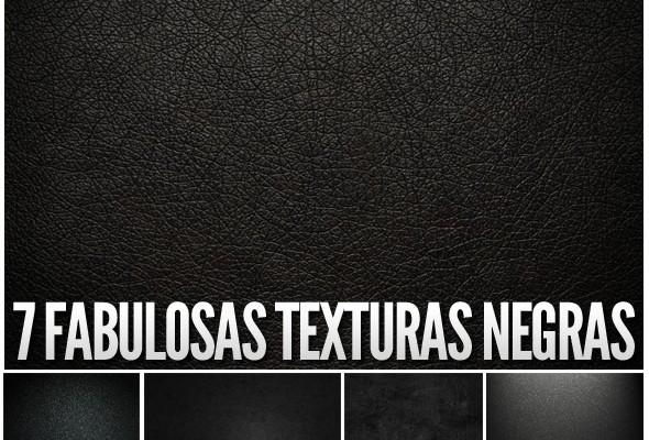 texturas en negro