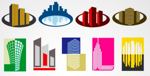 isotipos de edificios