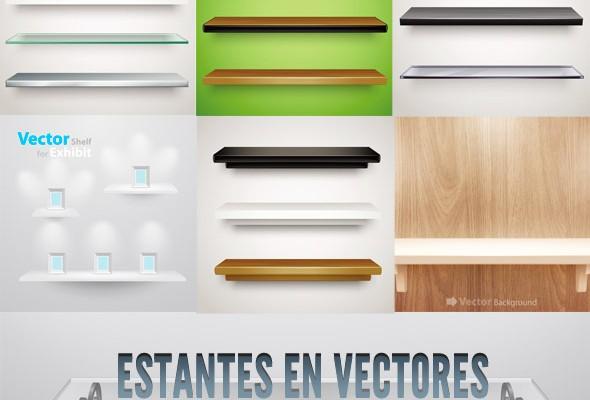 estantes en vectores