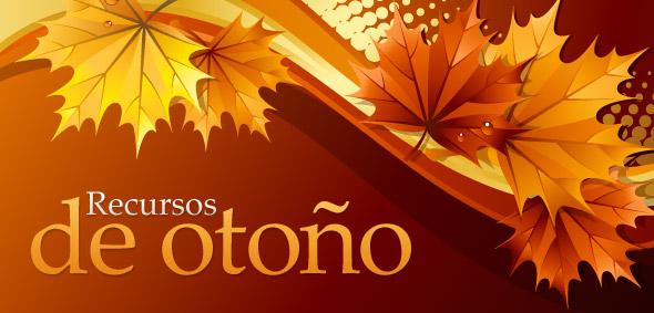 recursos graficos para el otoño