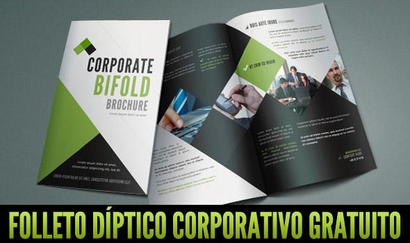 folleto diptico gratuito