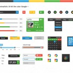 Google plus UI Kit