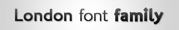 London Family Font