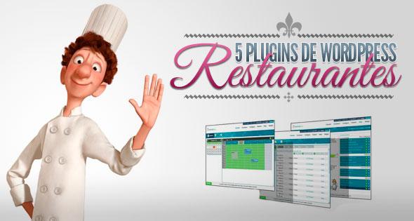 plugin wordpress restaurantes