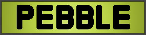 pebble-font