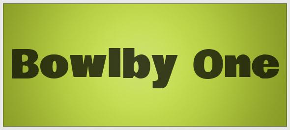 bowlby-font