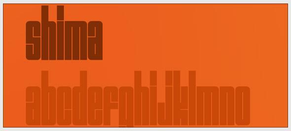 shima-font