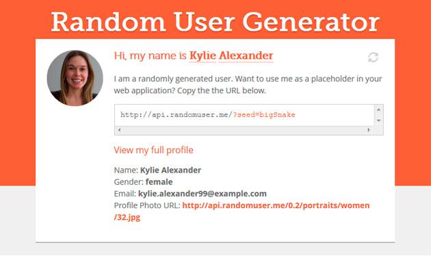 random-user-generator