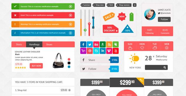 UI Shopping Kit