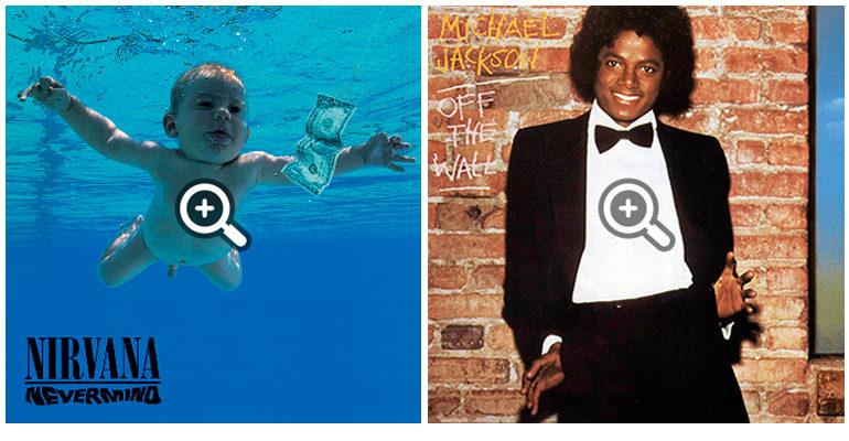 creatividad en discos famosos