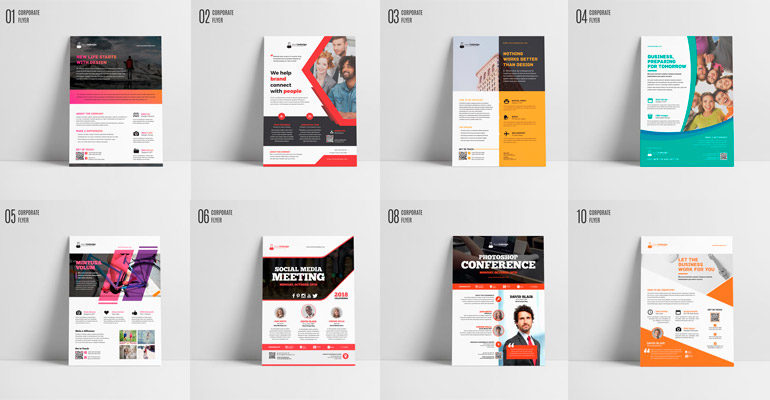 flyers indesign