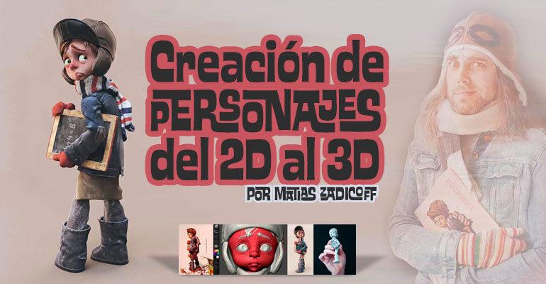 Curso: Creación de Personajes 3D